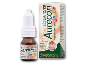 Herb Pharma Aurecon ušní kapky Junior Forte 10 ml
