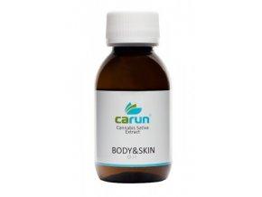Carun Tělový a pleťový konopný olej 100 ml