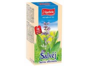 Apotheke Šalvěj lékařská čaj 20x1.5g