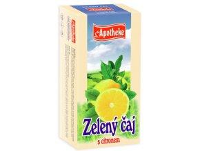 Apotheke Zelený čaj s citronem 20x1.5g