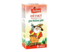 Apotheke Dětský bylinný čaj pro běžné pití 20x1.5g