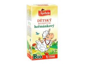 Apotheke Bio Dětský čaj heřmánkový 20x1.5g