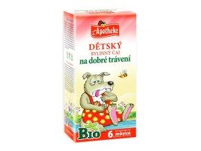 Apotheke Bio Dětský čaj na dobré trávení 20x1.5g