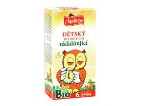 Apotheke Bio Dětský čaj uklidňující 20x1.5g