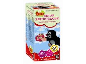 Krtečkův sirup Bio Průduškový s mateřídouškou 250 g