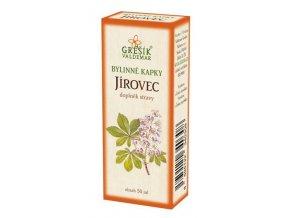 Grešík Jírovec bylinné kapky 50 ml
