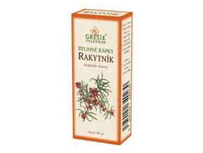 Grešík Rakytník bylinné kapky 50 ml