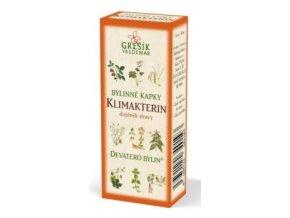 Grešík Klimakterin bylinné kapky Devatero bylin 50 ml