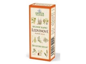 Grešík Ledvinové bylinné kapky Devatero bylin 50 ml