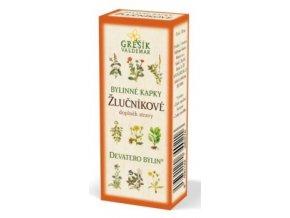 Grešík Žlučníkové bylinné kapky Devatero bylin 50 ml