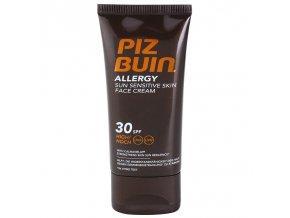 piz buin allergy opalovaci krem na oblicej spf 30