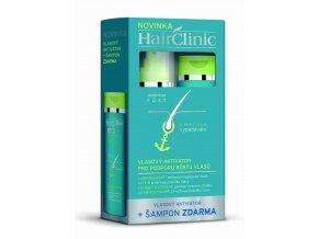 HairClinic vlasový aktivátor 175 ml + HairClinic šampón 175 ml