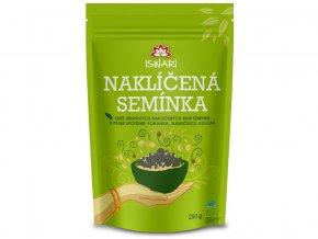 Iswari Bio Naklíčená semínka směs - Pohanka, slunečnice, alfalfa 250 g