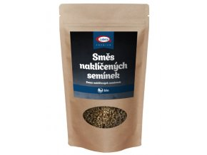 Iswari Bio Naklíčená semínka směs - pohanka, slunečnice, quinoa 250 g