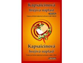 Tým Pro Farmacii Kapsaicinová hřejivá náplast 12x18cm 1 ks