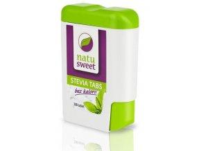 Natusweet Stevia Tabs tablety 18 g (300 tablet)