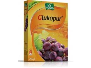 Natura Glukopur hroznový cukr 250 g