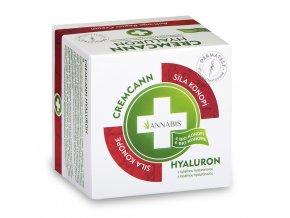 Annabis Cremcann Hyaluron - konopný hydratační pleťový krém 15 ml
