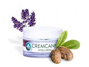Annabis Cremcann Hyaluron - konopný hydratační pleťový krém 50 ml
