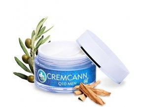 Annabis Cremcann Q10 for Men - konopný regenerační pleťový krém pro muže 50 ml