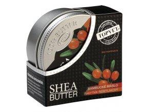 Topvet Bambucké máslo (shea butter 100%) s rakytníkem 100 ml