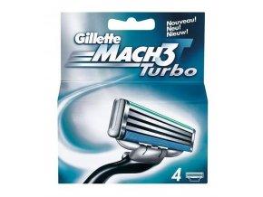 Gillette Náhradní hlavice Gillette Mach3 Turbo 4 ks