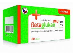 Gynpharma Betaglukan IMU 200 mg 60 tob.