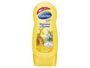 Bübchen Kids šampon a sprchový gel - safari 230 ml