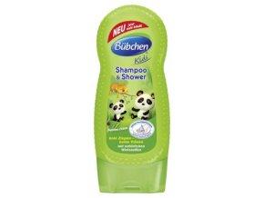 Bübchen Kids šampon a sprchový gel - panda 230 ml