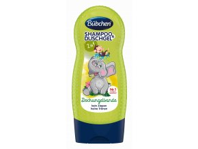 Bübchen Kids šampon a sprchový gel - džungle 230 ml