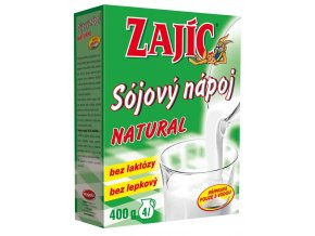 Mogador Sójový nápoj Zajíc natural krabička 400 g