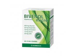 Biomedica Bivenol Micro 60 tbl. + 10 tbl. ZDARMA