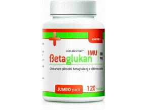 Gynpharma Betaglukan IMU 200 mg 120 tob.