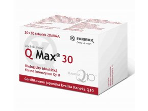 Farmax Q Max 30 30 tob. + 30 tob. ZDARMA