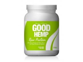 Good Hemp Raw Nativní konopný protein 2500 g