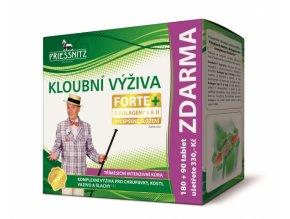 Priessnitz kloubní výživa Forte + kolageny 180 tbl. + 90 tbl. ZDARMA