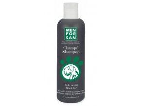 Menforsan Šampon zvýrazňující černou barvu pro psy