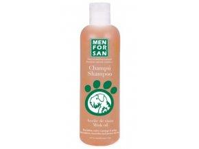 Menforsan Ochranný šampon s norkovým olejem pro psy