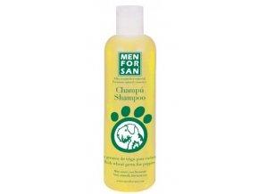 Menforsan Velmi jemný šampon pro štěňata z pšeničných klíčků 300 ml