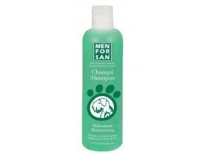 Menforsan Přírodní hydratační šampon se zeleným jablkem pro psy 300 ml