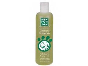 Menforsan Přírodní šampon proti svědění s výtažky oleje z Tea Tree pro psy 300 ml