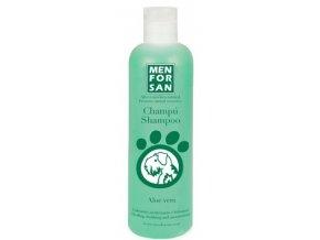 Menforsan Přírodní zklidňující, hojivý šampon s výtažky z aloe vera psy