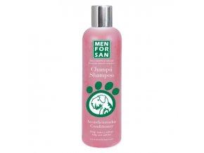 Menforsan Ošetřující šampon a kondicionér proti zacuchávání srsti pro psy 300 ml