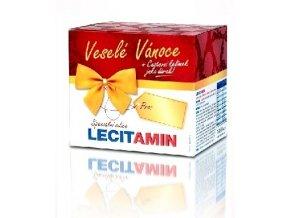 Lecitamin lecitino-proteinový nápoj vanilka 250 g  + cestovní skládací kelímek