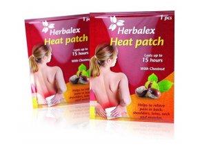 Herbalex - hřejivá náplast s kaštanem 1 ks