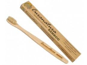 Curanatura Zubní kartáček Bamboo (extra soft ) - zelená volba