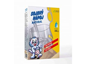 ASP Sójový nápoj Natural 200 g