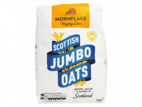 Mornflake Skotské Jumbo ovesné vločky (Scottish Jumbo Oats) 1,5 kg