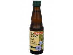 Bio Lněný olej 250 ml - za studena lisovaný