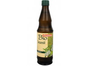 Rinatura Bio Olej sezamový lisovaný za studena 500 ml